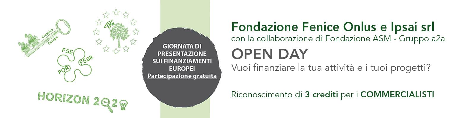open day finanziamenti europei